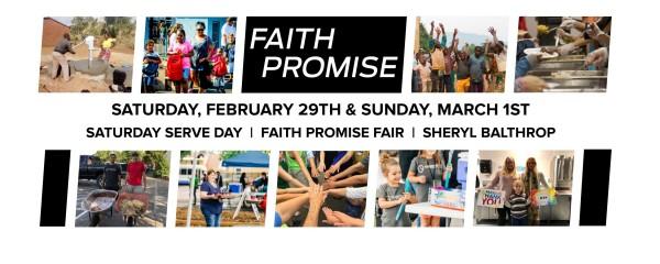 March 1, 2020 ~ FAITH PROMISE
