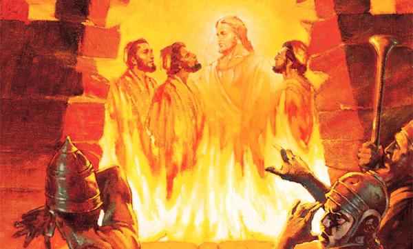 Daniel 3, Salvados del horno de fuego