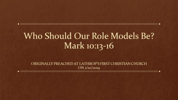 who-should-our-role-model-beWho should Our Role Model be?