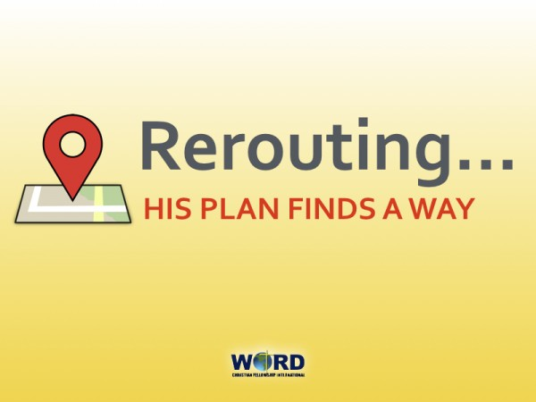 rerouting-his-plan-finds-a-wayRerouting His Plan Finds A Way