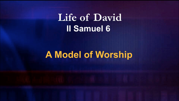 A Model of Worship
