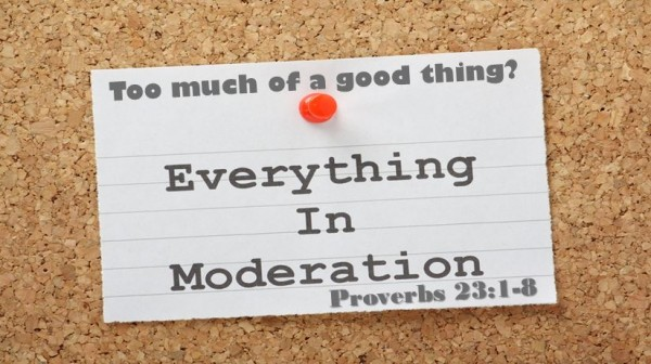 Too Much of a Good Thing? - Moderation