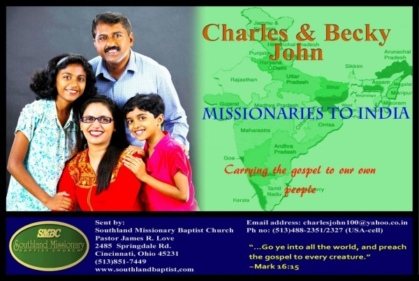 missionaries-to-india-charles-becky-johnMissionaries to India Charles & Becky John