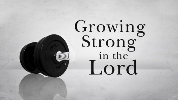 Growing Strong in the Lord Part 2