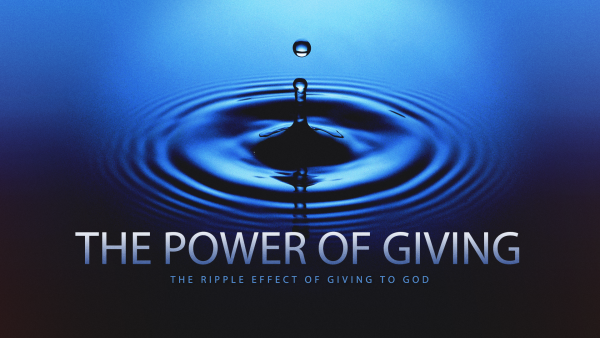 the-power-of-givingThe Power of Giving