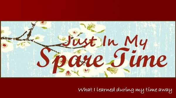 what-i-have-learned-in-my-spare-timeWhat I Have Learned In My Spare Time