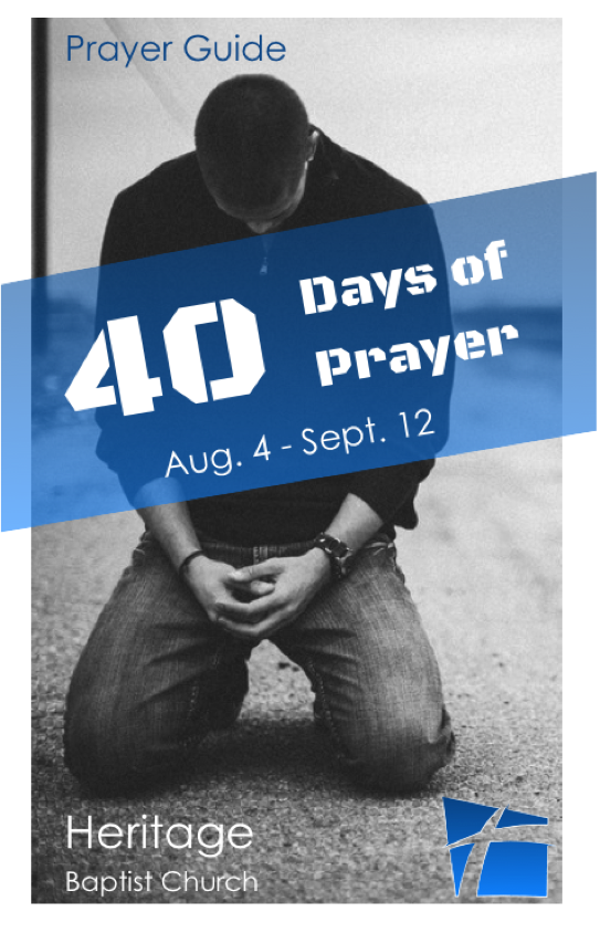1-40-days-of-prayer#1  40 Days of Prayer