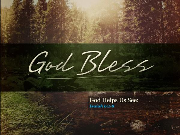 God Helps Us See