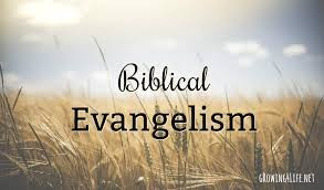 NATURAL EVANGELISM WORKSHOP 5