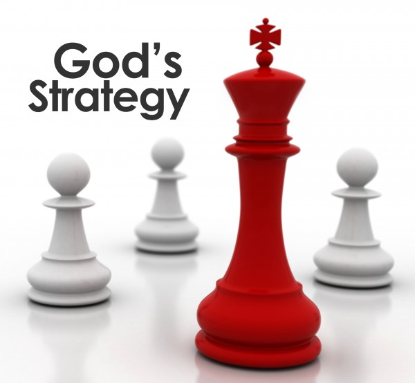 God's strategy for straight