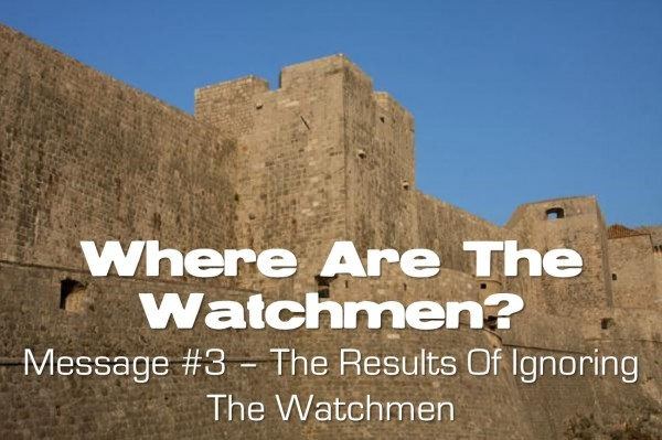 Where Are The Watchmen? Part 3: The Results of Ignoring the Watchmen