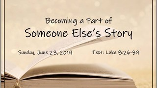 becoming-a-part-of-somebody-elses-storyBecoming a Part of Somebody Else's Story