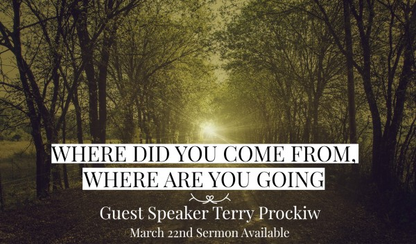 terry-prockiw-where-did-you-come-from-where-are-you-going-march-22Terry Prockiw - Where did you come from, where are you going - March 22