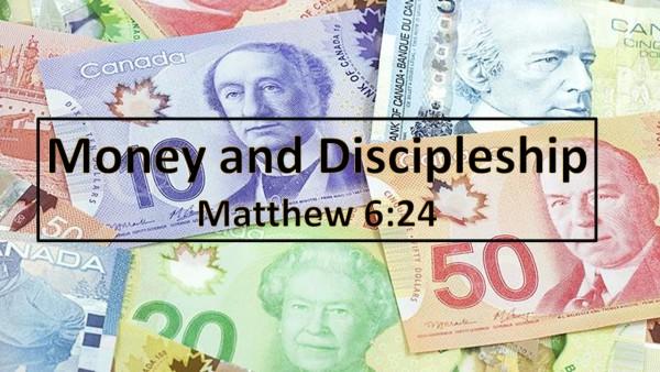 money-and-discipleshipMoney and Discipleship
