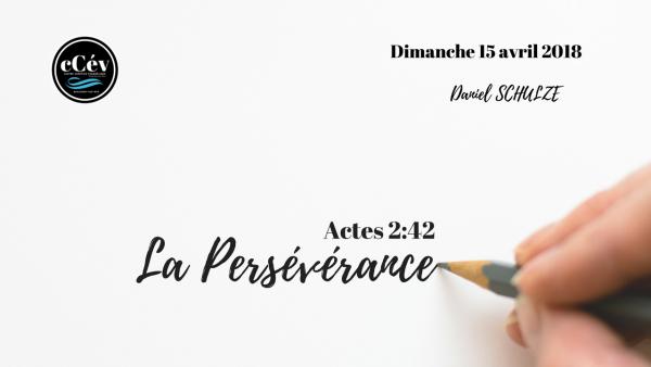 la-perseverancela persévérance
