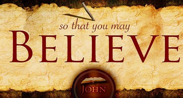 """John 2 """"So You Might Believe"""""""
