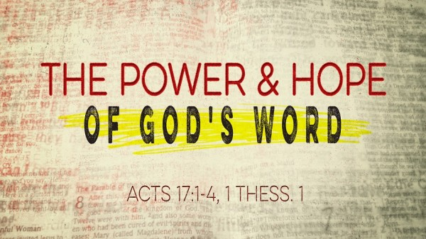 The Power and Hope of God's Word
