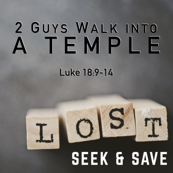 Two Guys Walked into a Temple