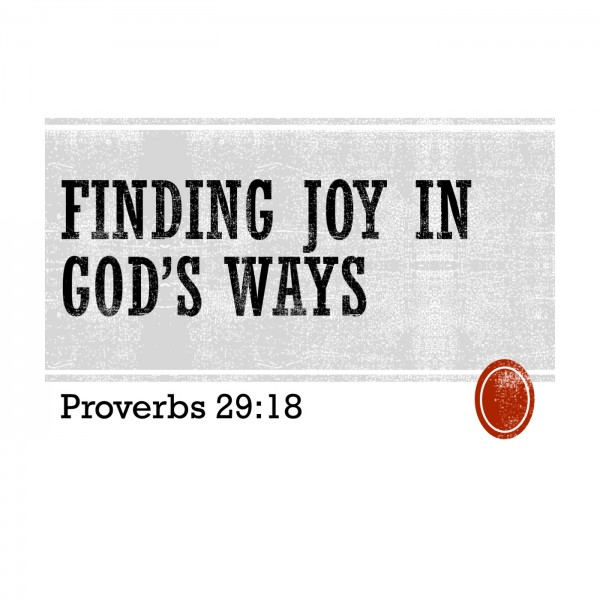 finding-joy-in-gods-ways-proverbs-2918Finding Joy in God's Ways (Proverbs 29:18)