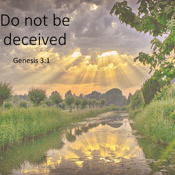 #4 Do not be decieved, Genesis 3.1