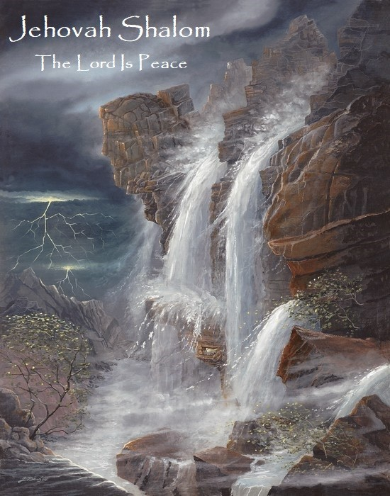 There's a Name for That- Jehovah Shalom The Lord Is Peace (12-1-19)