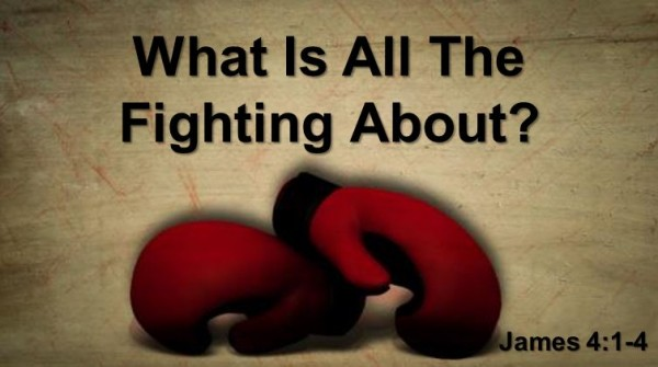 What Is All The Fighting About?