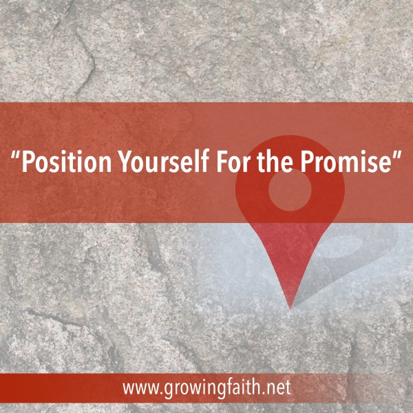 position-yourself-for-the-promisePosition Yourself For the Promise