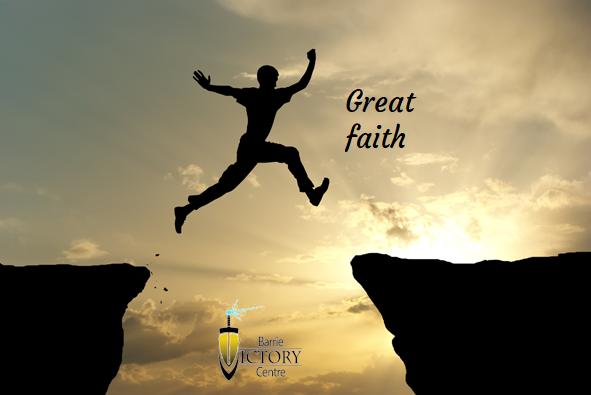 Great Faith Pt 1