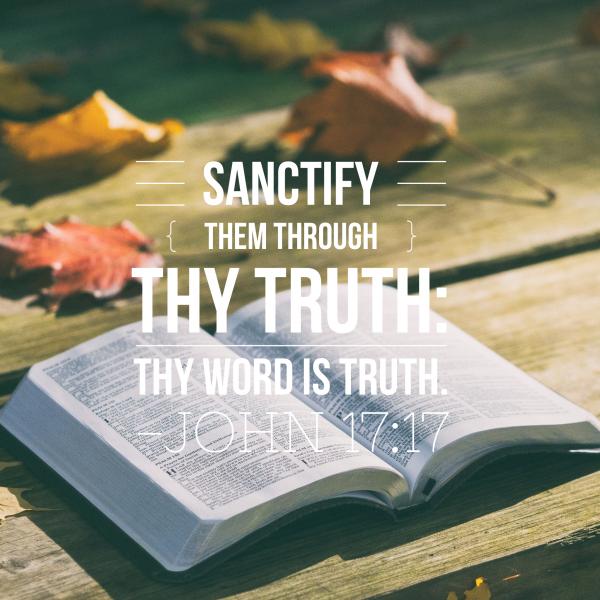john-1711-19-jesus-prays-for-your-sanctificationJohn 17:11-19 - Jesus Prays For Your Sanctification