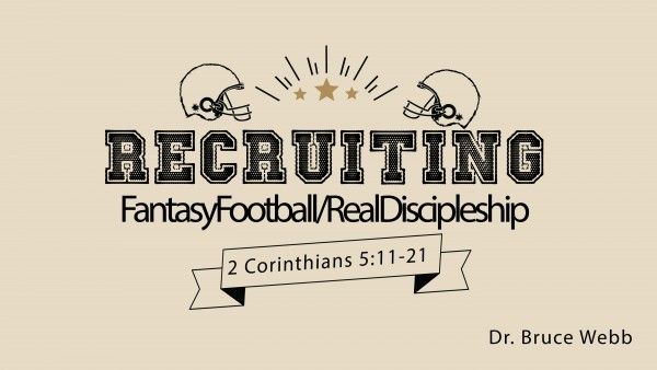 Recruiting   FantasyFootball/RealDiscipleship