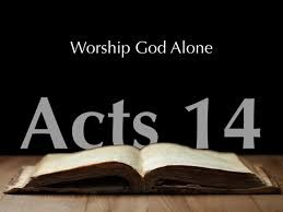 Acts 14 1-5 Iconium Was Divided