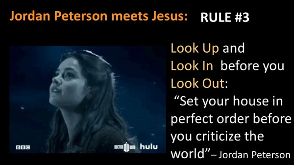Jordan Peterson meets Jesus Sermon Podcast 03 - Look up, Look In, then Look Out