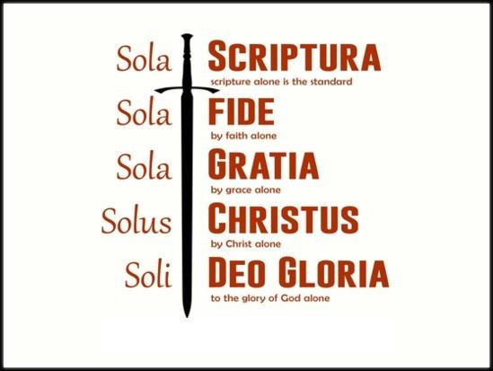 sola-scripturaSola: Scriptura