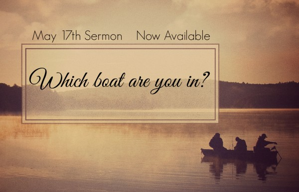 which-boat-are-you-in-may-17th-2015Which boat are you in ? - May 17th 2015
