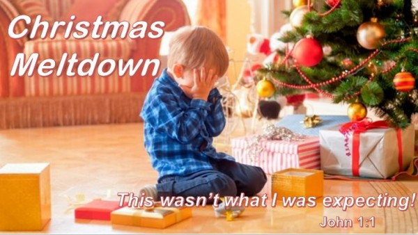 Christmas Meltdown: Not what I was expecting