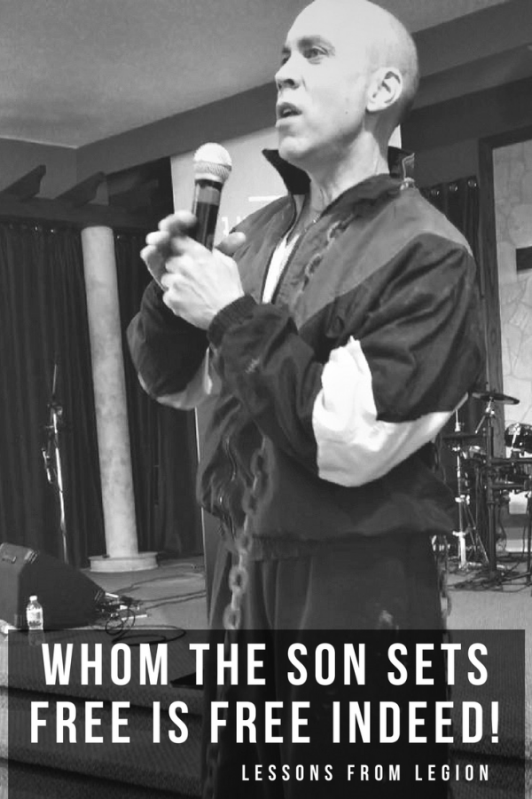 Whom the Son sets free is free indeed!-March 18th 2018