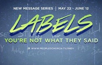 "You're not what happened to you - ""Labels"" series - 6/5/16"