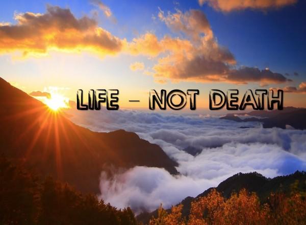 life-not-deathLife Not Death