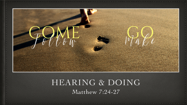 Hearing and Doing