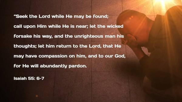 seek-the-lordSeek The Lord