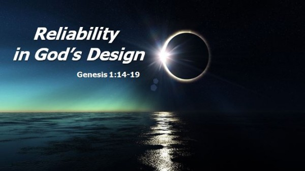 Reliability in God's Design