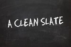 a-clean-slateagainA Clean Slate...Again