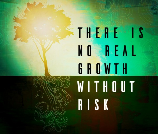There is no real growth without risk -Oct 30, 2016