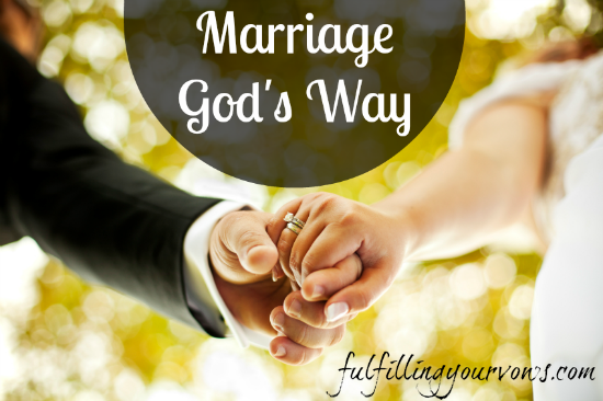 Marriage God's Way 7 Part Series