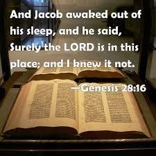 Who Knew Genesis 28:16