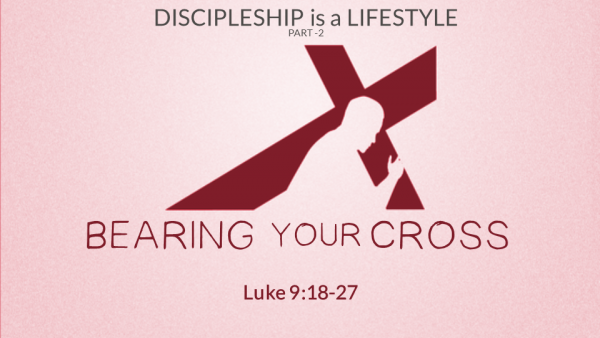 Bearing Your Cross