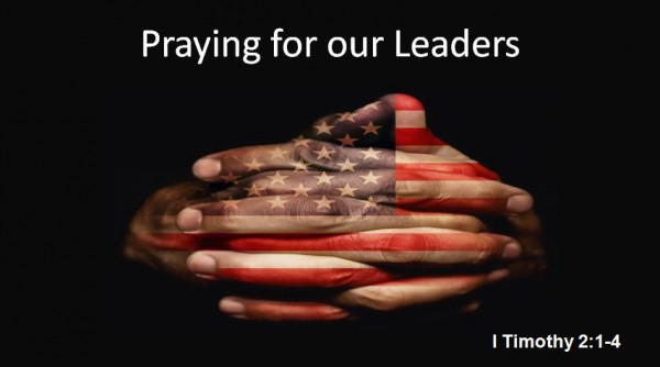 Praying for our Leaders