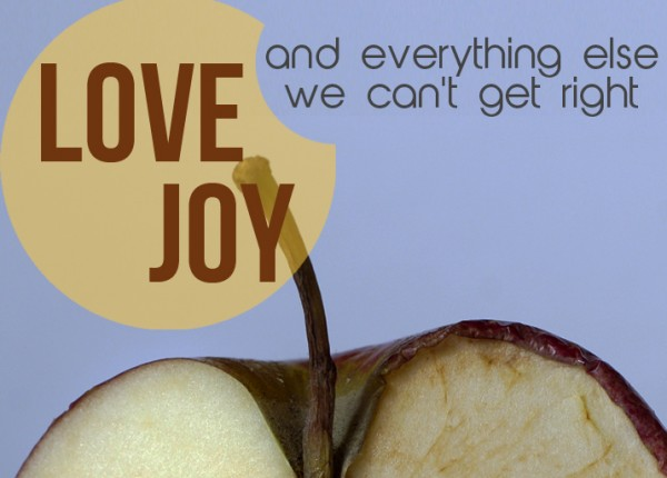 love-vs-self-centeredness-1Love vs. self-centeredness