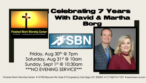 7th Anniversary Services - Friday Night Service