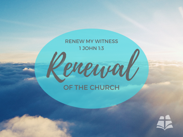 Renew My Witness